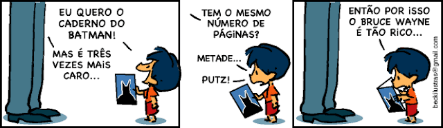Armandinho e o caderno do Batman
