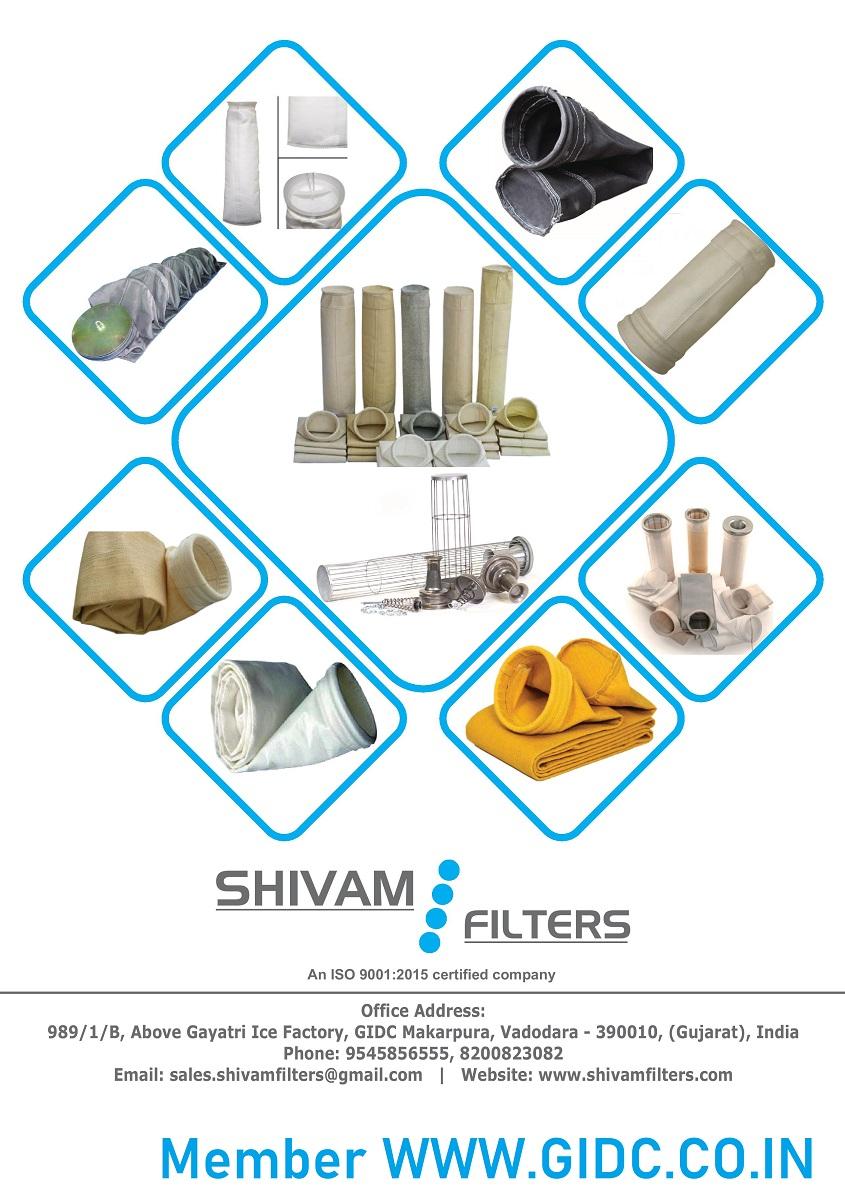 SHIVAM FILTERS - 9545856555 INDUSTRIAL Filter Bag GIDC GUJARAT INDIA MAHARASHTRA MUMBAI