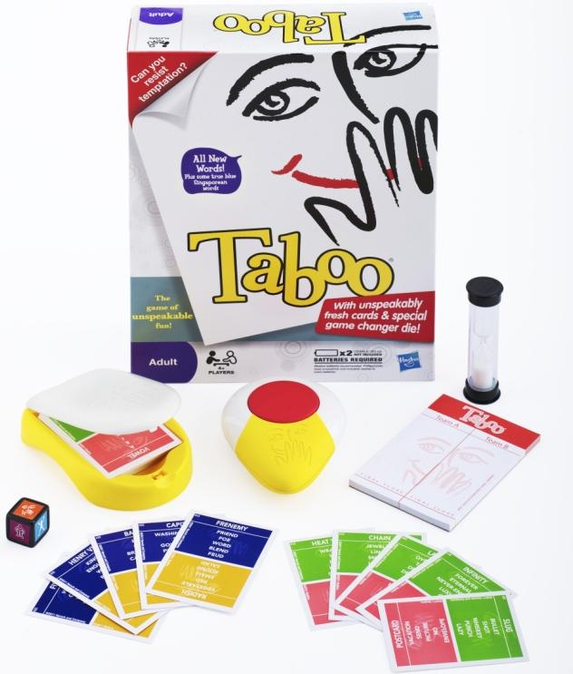 The New TABOO! Game By Hasbro (SG Version GIVEAWAY