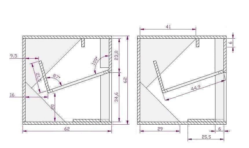 Cubo 15 standard plan