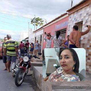 Homem assassina a ex-esposa a tiros e, em seguida, se mata Juazeirinho