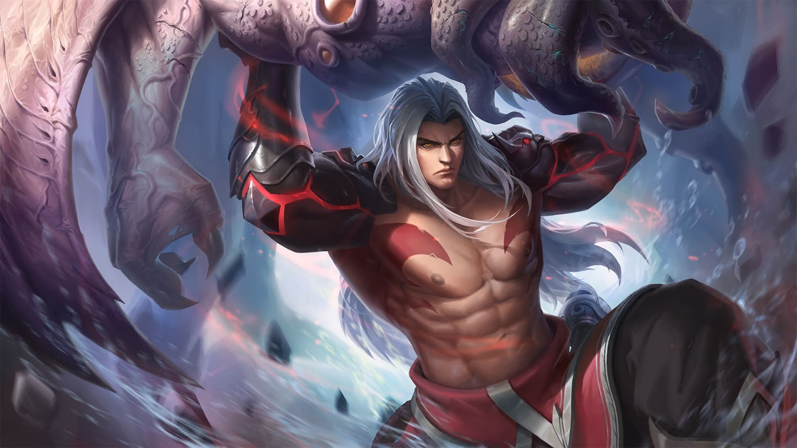 Wallpaper Badang Ironfist Skin Mobile Legends HD for PC