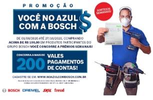 Cadastrar Promoção Você no Azul Bosch 2020 Mais de 200 Prêmios