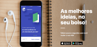 12 minutos (app resumos de livros 12minutos) é bom? microbook audiobook audio book micro book books livros resumo aplicativo audiobooks