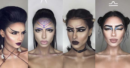 This Makeup Artist Created Some Pretty Crazy Looks Every Astrological Sign