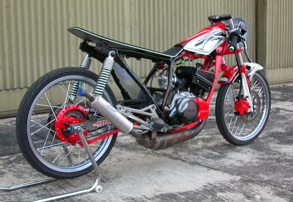 Modifikasi motor rx king drag