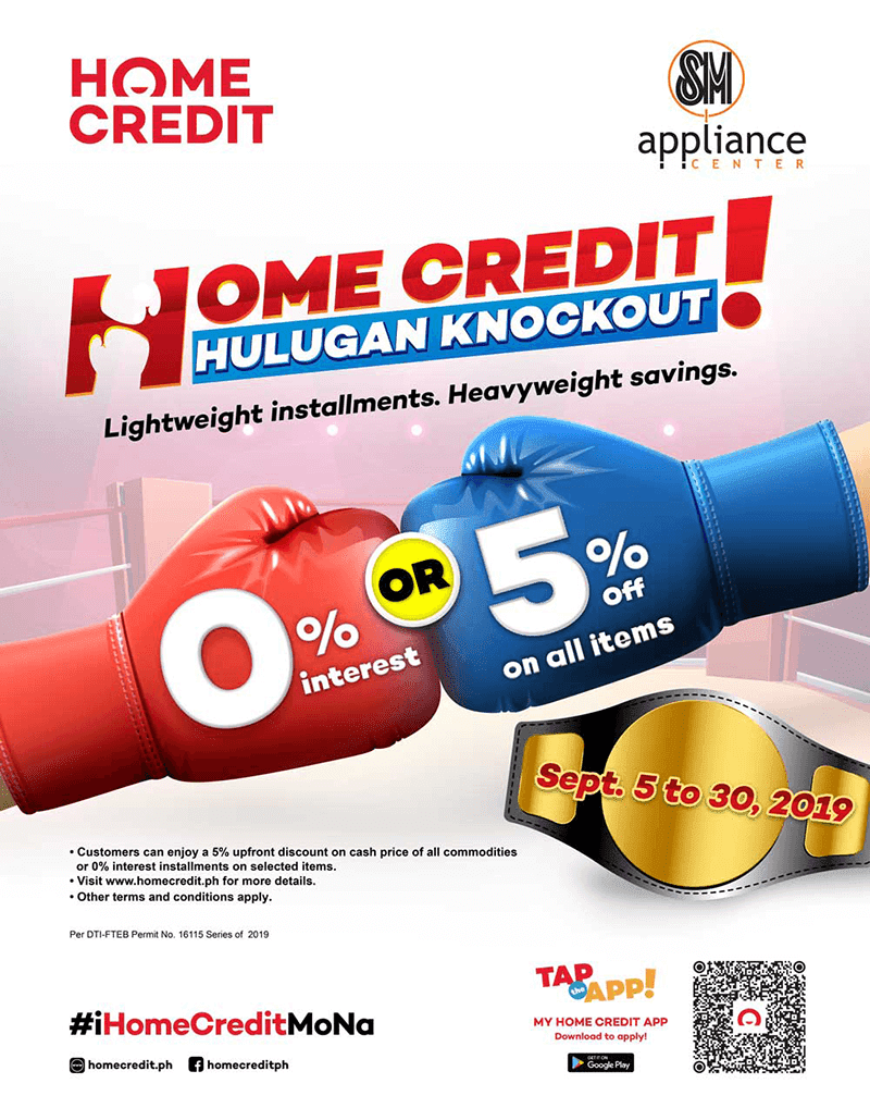 """Home Credit announces """"Hulugan Knockout"""" promo!"""