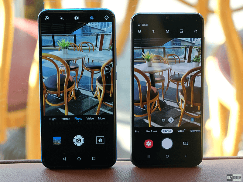 Rear Camera UI