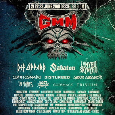 FM at Graspop Metal Meeting - June 2019 - poster