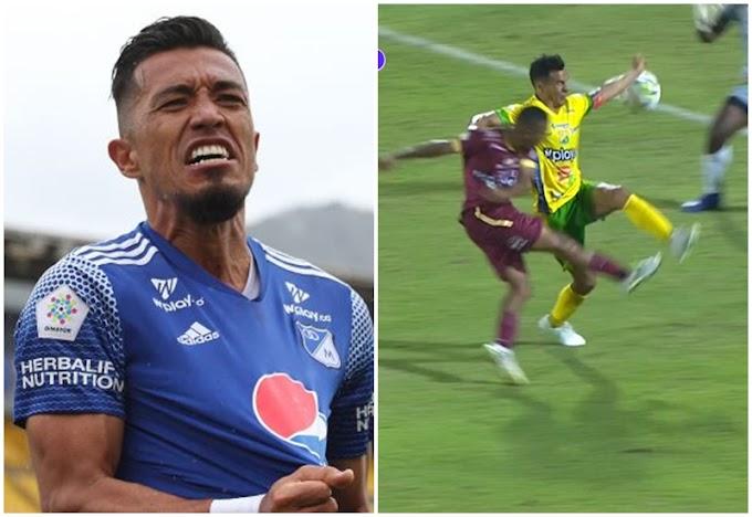 ¿Todavía con la 'tusa'? La pulla de Fernando Uribe, de Millonarios, a Carlos Ortega y DEPORTES  TOLIMA