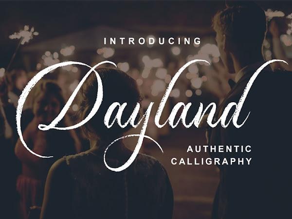 Dayland Script Font Free Download