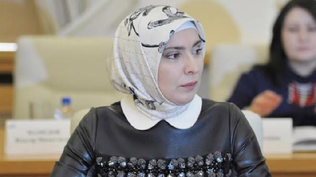 Aina Gamzatova, Muslimah Penantang Putin di Pilpres Rusia