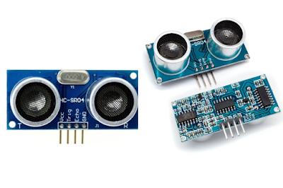 pengertian cara kerja prinsip kerja bagian sensor ultrasonik