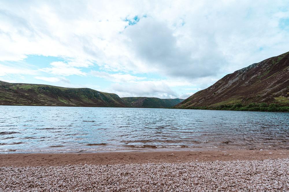 Loch Muick in Aberdeenshire