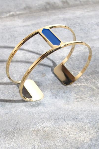 Bracelet Anne Thomas bleu