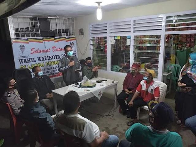 Tingkatkan Sinergi Semua Unsur, Plt Wako Hendri Septa Apresiasi Forkopsteng di Lubeg