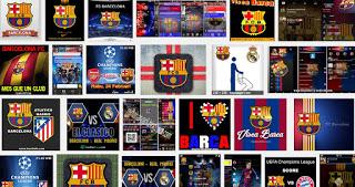 BBM Mod Theme Barcelona FC v3.0.0.18 Apk