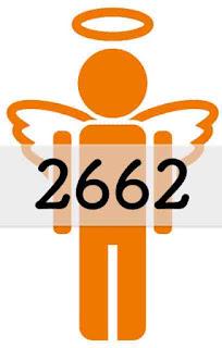 2662 のエンジェルナンバー の意味