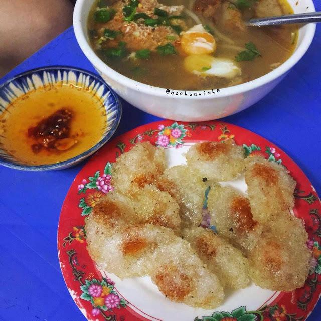 Bánh bột lọc chiên - Bánh canh dì Huê, K75/15 Hùng Vương, Hải Châu, ĐN
