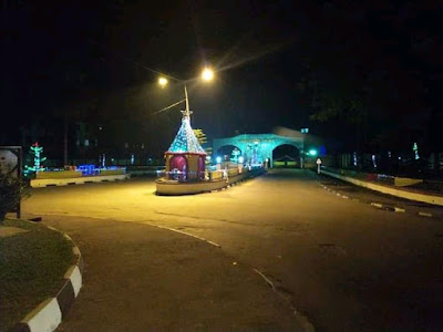 Zana intensifies  beautification of Unical ahead of Christmas