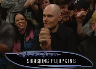 WWF Backlash 2000 - future NWA owner Billy Corgan was in the crowd