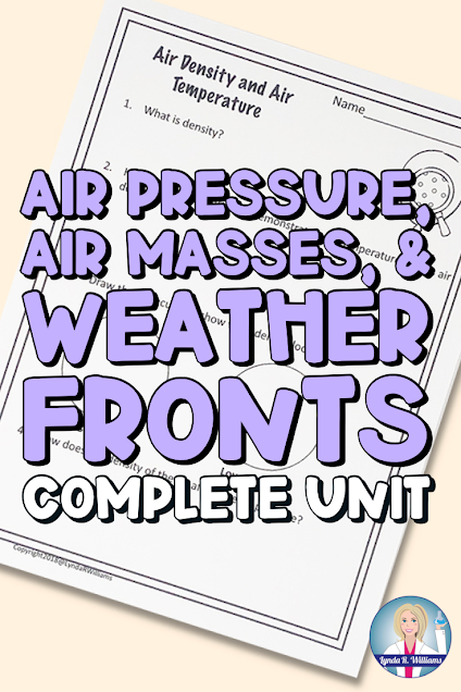 Air Pressure, Air Masses and Weather Fronts