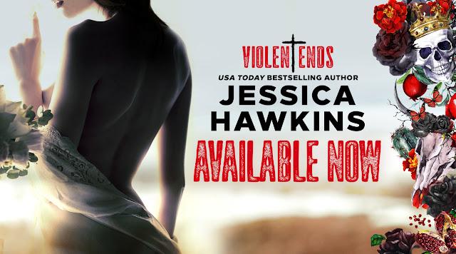 Violent Ends by Jessica Hawkins Promo Image