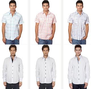 Camisas baratas para hombre