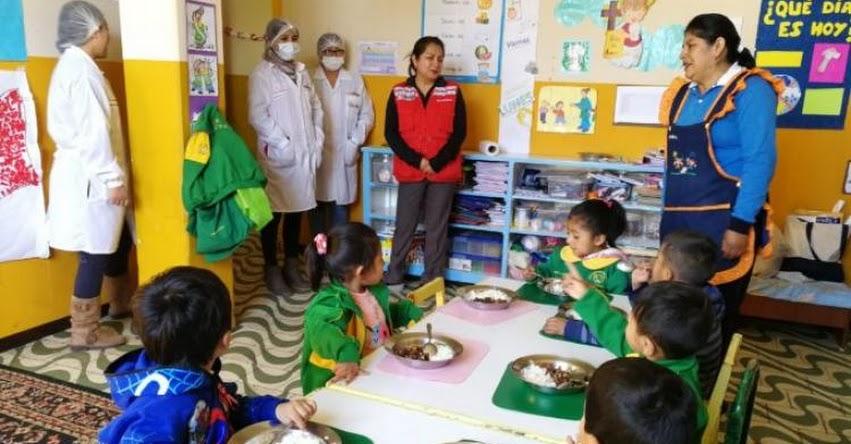 QALI WARMA: Programa social supervisó servicio alimentario en colegio de Arequipa - www.qaliwarma.gob.pe
