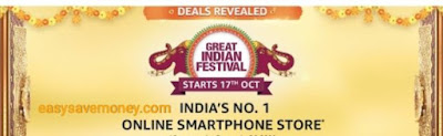 Get Smartphones Under Budget on Amazon Sale From 17th Oct 2020
