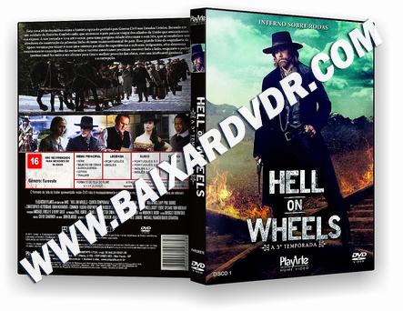 Hell On Wheels – 5ª Temporada Completa (2020) DVD-R AUTORADO