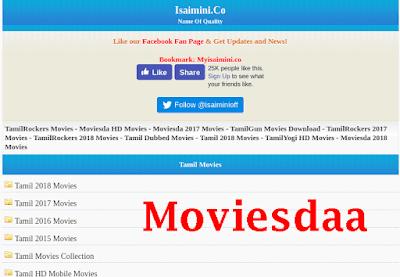Moviesdaa- Download 2020 Tamil Telugu HD Movies Online