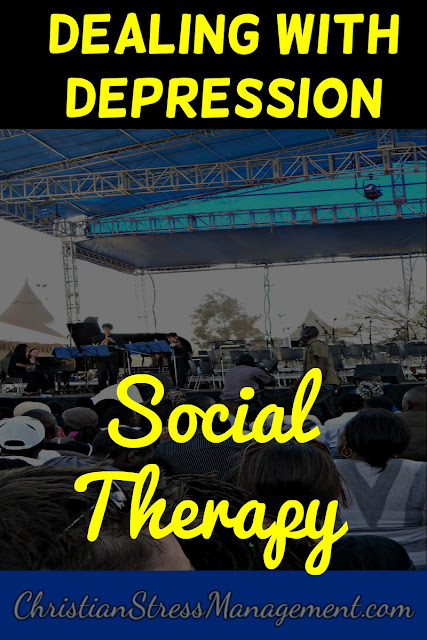 Social Therapy for Dealing with Depression