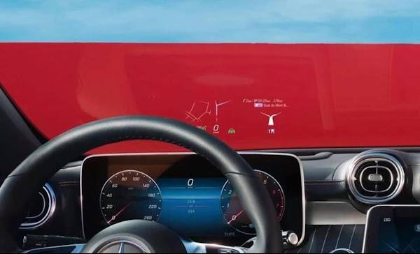 Novo Mercedes Classe C 2022: fotos divulgadas da versão AMG Line