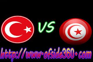 موعد مباراة تونس وتركيا اليوم 01-06-2018 -اوفسايد360