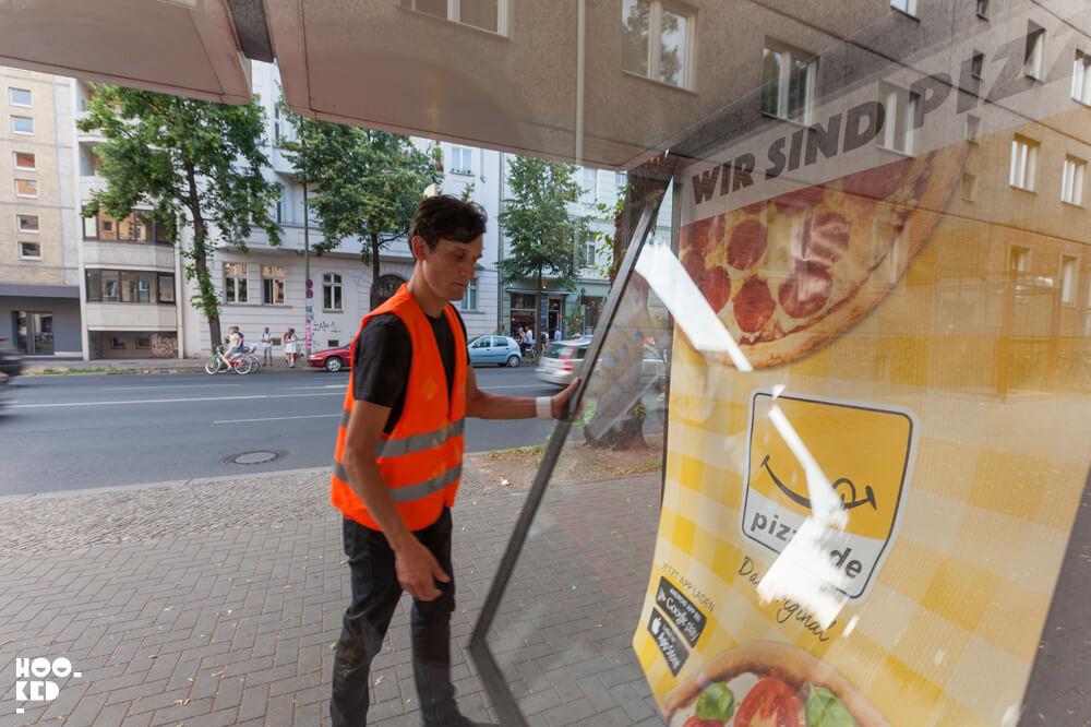 Berlin Street Art - Adbusting with artist Jordan Seiler