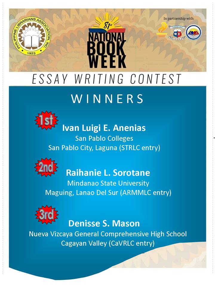 Cbi essay writing competition results