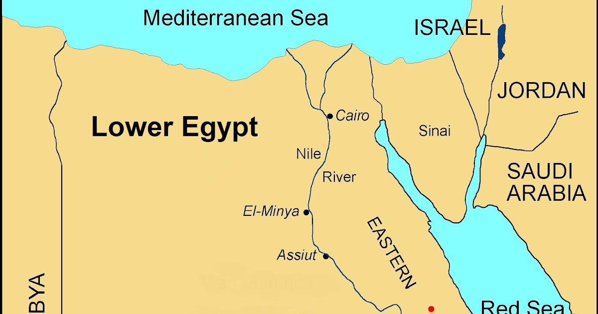 Upper And Lower Egypt Map Like Shooting Fish in a Barrel: Ancient Egypt (pt. 2)