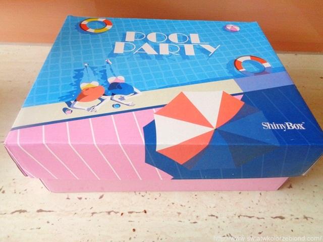 zawartość pudełka shinybox pool party lipiec 2017