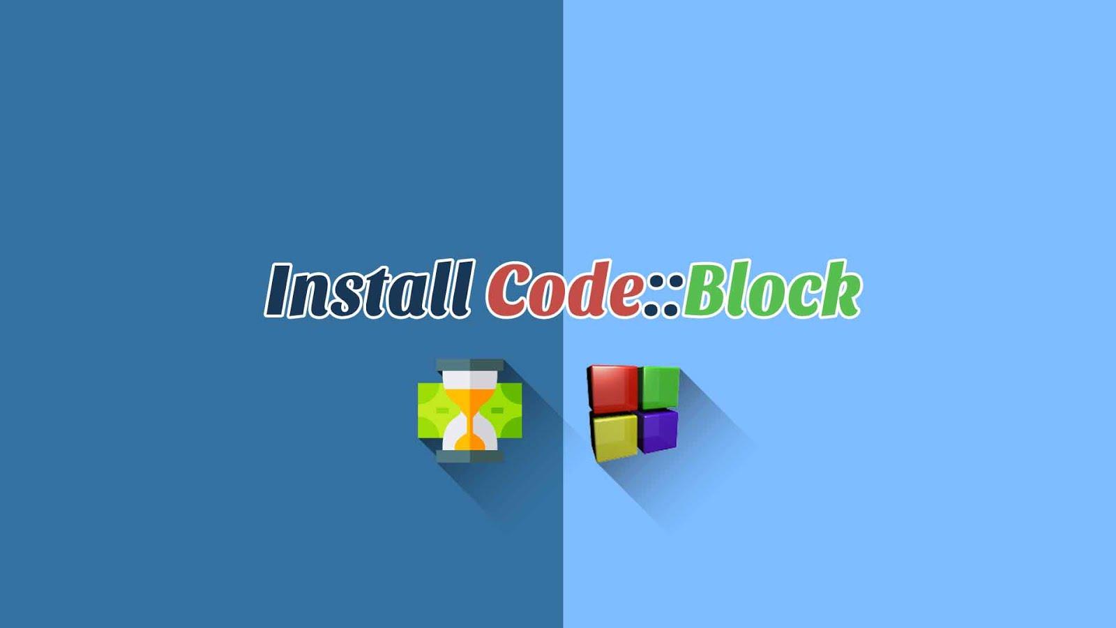 Cara Install Code Block Dengan Benar