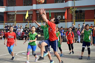 TCV Chauntra Inter House Basketball Tournament 2017