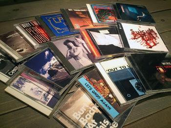沢山のCDを頂きました