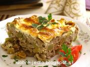 Zapekané zeleninové cestoviny - recept