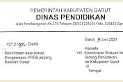 Permintaan Data Terkait Pengawasan PPDB Jenjang Sekolah Dasar