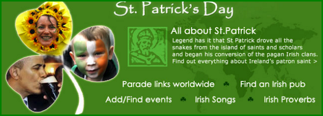 St patricks day sms images