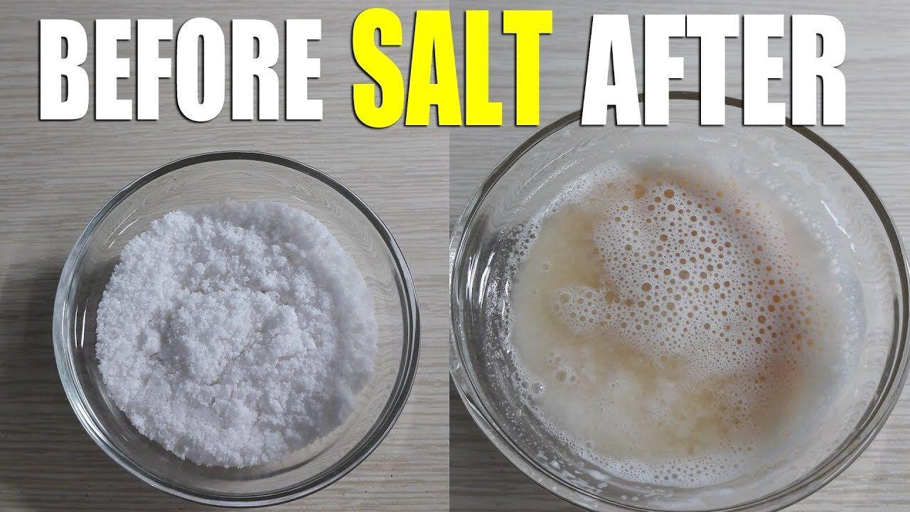 Salt Pregnancy Test Positive And Negative