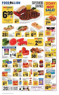 ⭐ Food Lion Ad 6/19/19 ✅ Food Lion Weekly Ad June 19 2019