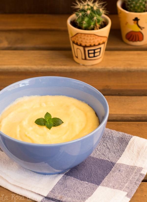Crema pastelera en 7 minutos | sin lactosa | la Rosa dulce