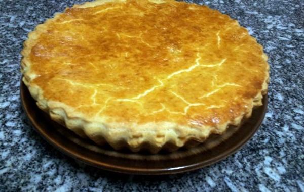 Torta De Frango Com Palmito De Massa Semi-Podre