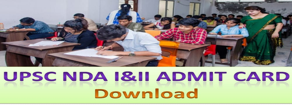 UPSC NDA II Admit Card 2020 Released, applyforjobs.in, applyforjobs